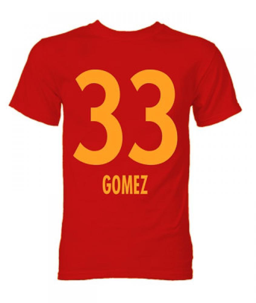 Mario Gomez Bayern Munich Hero T-Shirt (Red)