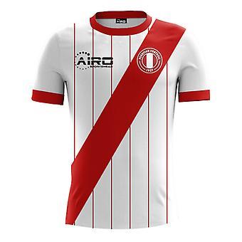 2017-2018 Peru Home Concept voetbalshirt