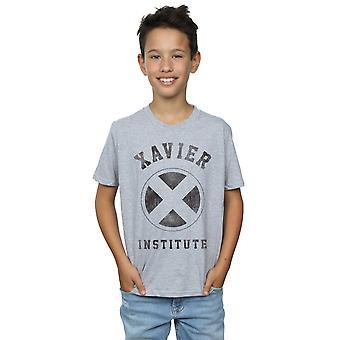 マーベルの男の子 X-メン ザビエル所 t シャツ