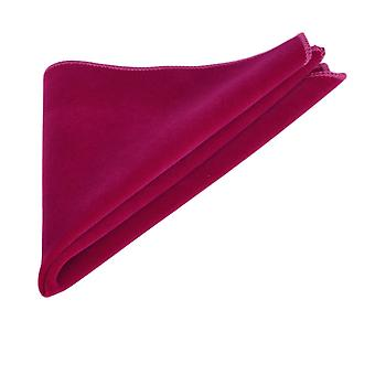 Luxury Magenta rosa sammet Pocket Square