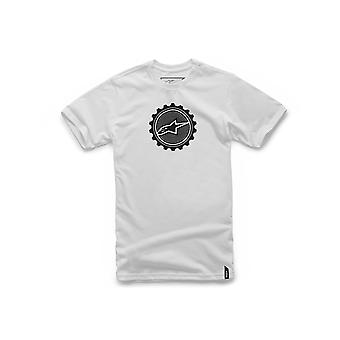 Alpinestars Geared Kurzarm T-Shirt in weiß
