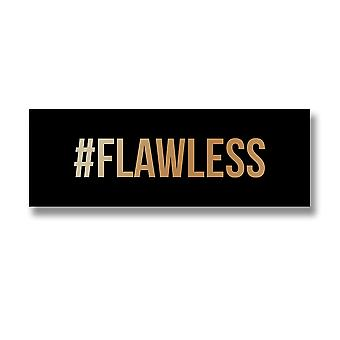 Hill Interiors `#Flawless` Gold Foil Plaque