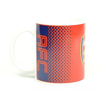 Arsenal FC officiella fotboll bleknar Design mugg