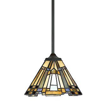 Quoizel Elstead Tiffany remont Mini Lampa wisząca