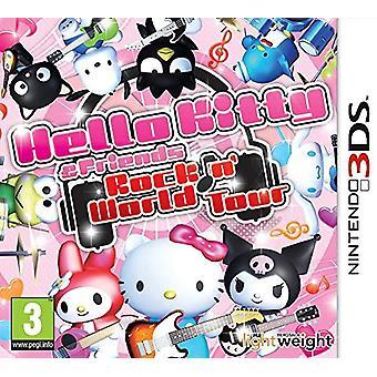 Hello Kitty en vrienden Rocking World (Nintendo 3DS)-nieuw