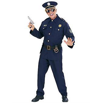 Costume de policier tissu lourd