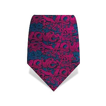 Gresham Blake 100% mătase graffiti cravată