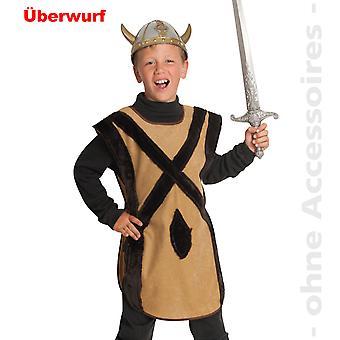 Bárbaro de Viking de lutadores para criança de traje Nordmanne fantasia infantil de gauleses