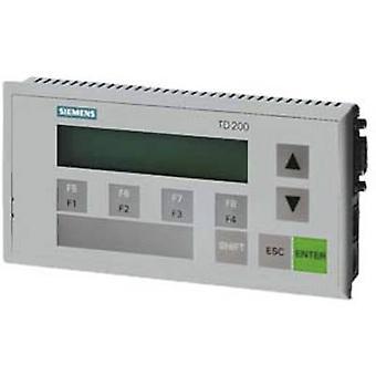 Siemens 6ES7272-0AA30-0YA1 TD 200 Textdisplay TD 200 Auflösung 20 Zeichen pro Linie Schnittstelle(n) RS 485 IP Bewertung IP65