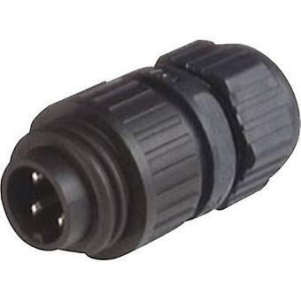 Hirschmann 934 124-100 CA 3 LS CA Series Mains Voltage Connector Nominal current (details): 16 A/AC/10 A/DC Number of pins: 3 + PE