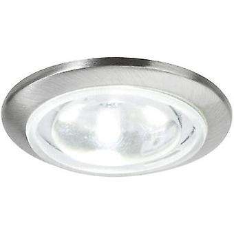Nice Price 3291 LED recessed light 5-piece set 2.5 W Daylight white Iron (brushed)