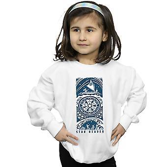 Disney flickor Moana stjärnigt läsaren Sweatshirt
