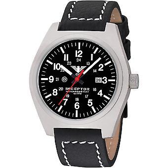KHS męskie zegarek stal interceptor KHS. INÈS. LBB