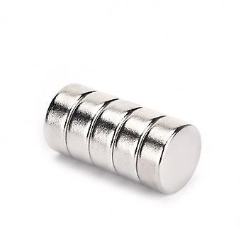 Neodymium magneetti 12 x 5 mm aluslevy N35 - 50 kpl