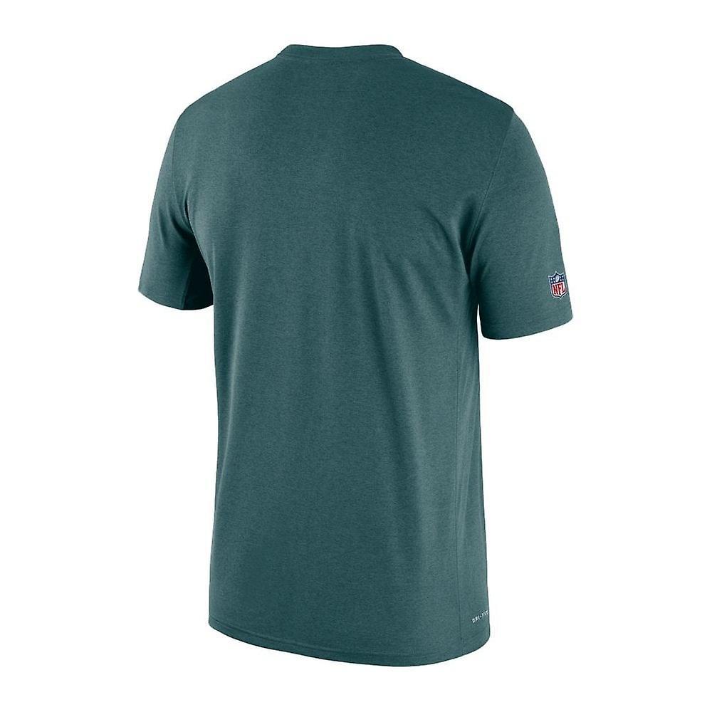 Nike Nfl Philadelphia Eagles Sideline Seismic Legend Performance T-shirt