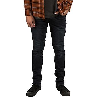 Volcom 2X4 Denim Skinny Fit Jeans in Vintage Blue
