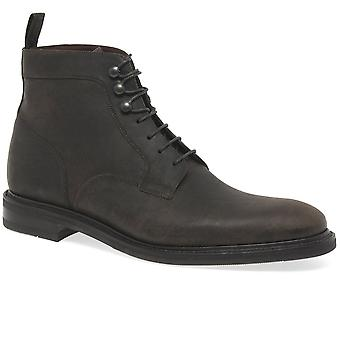 Loake Crow Mens Leather Lace Up Boots