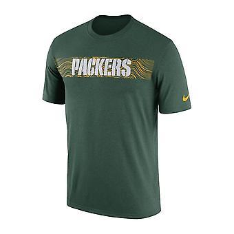 Nike Nfl Green Bay Packers nebenberuflich seismische Legende Performance T-shirt