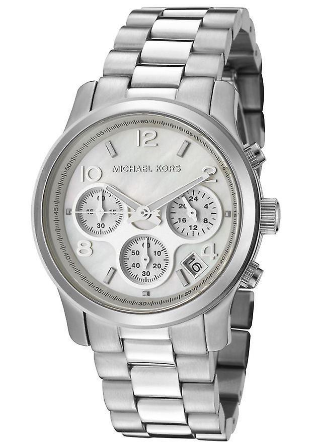 MK5304 sautoir montre en acier inoxydable cadran de nacre Michael Kors féminines