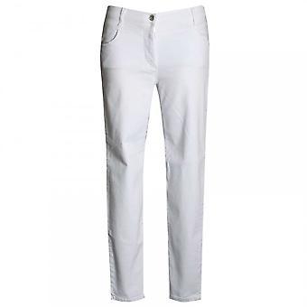 Betty Barclay Women's Straight Leg Diamante Jeans
