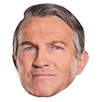 Graham from 13th Doctor Who Official Single 2D Card Party Fancy Dress Mask