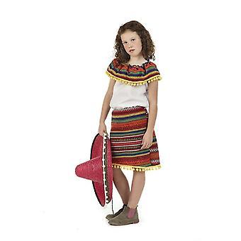 Les enfants mexicains costumes enfants de Lupita girl costume