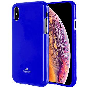 GOOSPERY Pearl Jelly Case iPhone Xs MAX TPU Shell dark Blue