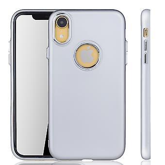 Apple iPhone cover XR - mobiltelefon fall för Apple iPhone mobiltelefon fall i silver XR-
