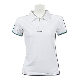 Wilson Women's Performance Polo white / aqua