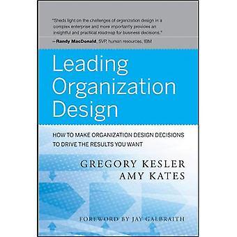 Ledende organisasjon Design: Hvordan lage organisasjon Design beslutninger om å kjøre resultatene du vil