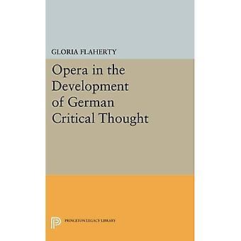 Ópera no desenvolvimento do pensamento crítico alemão (biblioteca do legado de Princeton)