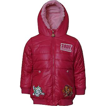 Girls RH1136 Paw Patrol Winter Hooded Jacket Size: 3-6 Years