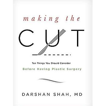 Varauksen leikkaus: kymmenen tavarat te pitäisi ajatella ennen kuin plastiikkakirurgia