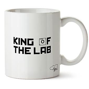 Hippowarehouse King Of The Lab Printed Mug Cup Ceramic 10oz