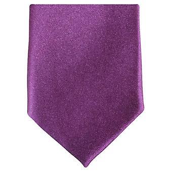 Knightsbridge Neckwear slank Polyester uavgjort - lilla