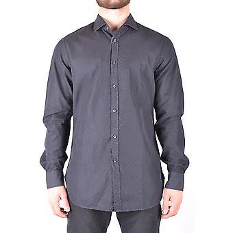 Jacob Cohen Ezbc054117 Männer's schwarze Baumwolle Shirt