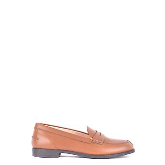 Tod's Xxw0vk0l100frbs609 Women's Brown Leather Loafers