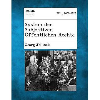 نظام سوبجيكتيفين der فينتليتشين رشت بجورج & يلنيك