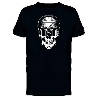 Skull With Cholo Bandana Glasses Tee Men's -Image by Shutterstock
