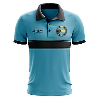 Bahamas Concept Stripe Polo Shirt (Sky)-Kids