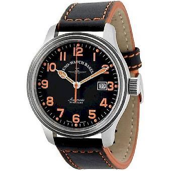 זנו-Watch גברים של Watch NC פיילוט אוטומטי 9554-a1