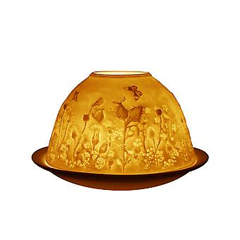 Light-Glow Dome Tealight Holder, Thistle