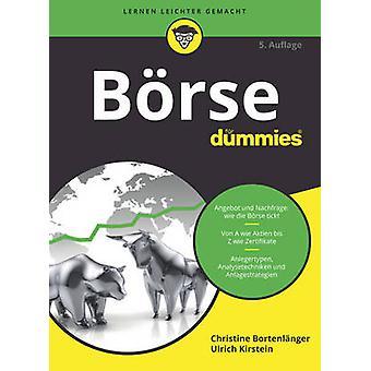 Borse Fur Dummies by Christine Bortenlanger - Ulrich Kirstein - 97835