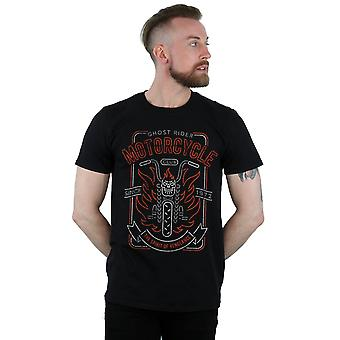 Marvel Men's Ghost Rider Motorcycle Club T-Shirt