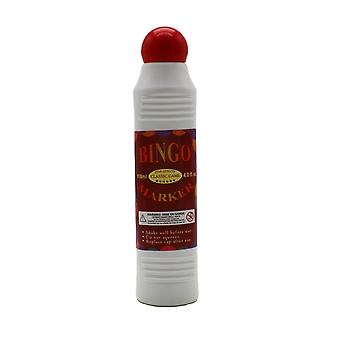 Bingo Marker/Dauber, 4.0 FL Oz. Bottle, Red