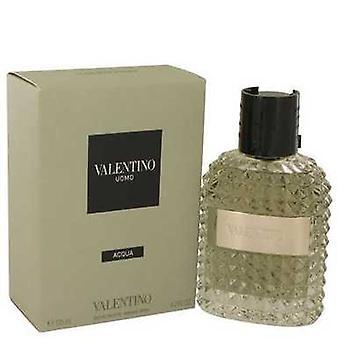 Valentino Uomo Acqua By Valentino Eau De Toilette Spray 4.2 Oz (men) V728-538749