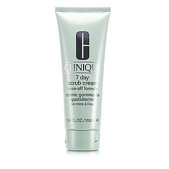 Clinique 7 Day Scrub Cream Rinse Off Formula 100ml/3.4oz