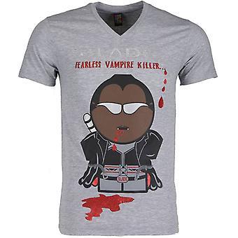 T-shirt-Blade Fearless Vampire Killer-Grey
