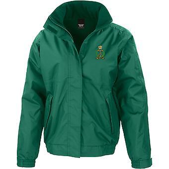 Royal Pioneer Corps-licenseret British Army broderet vandtæt jakke med fleece indre