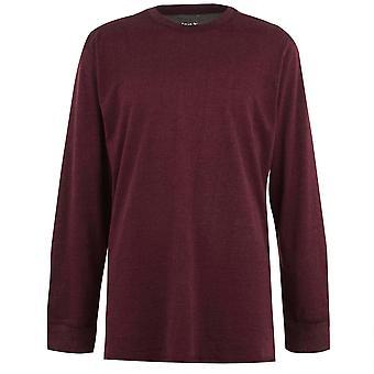 Gelert mens Sutoegegeven bemanning trui blouse lange mouwen top